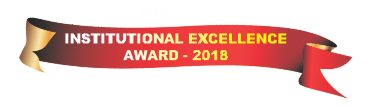 institutional excellence award 2018